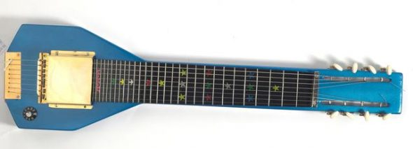Lap steel guitar, 2004, Auckland, Purchased 2004. Te Papa (FE011858)