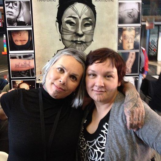 Maya Sialug Jacobsen and Holly Nordlum (Inuit)