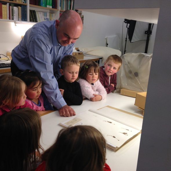 Discovering the botany collections at Te Papa, Photographer: Te Papa, © Te Papa