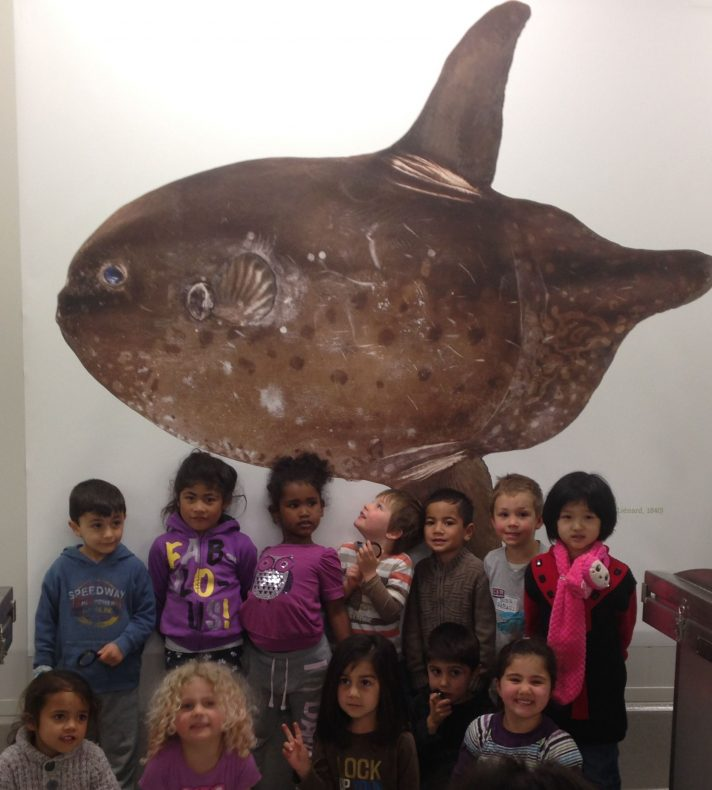 Group picture by Sunny Bill's tank, Photographer: Te Papa, © Te Papa