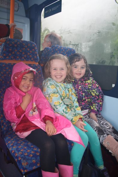 Travelling on the bus, Photographer: Imagine Childcare, © Te Papa