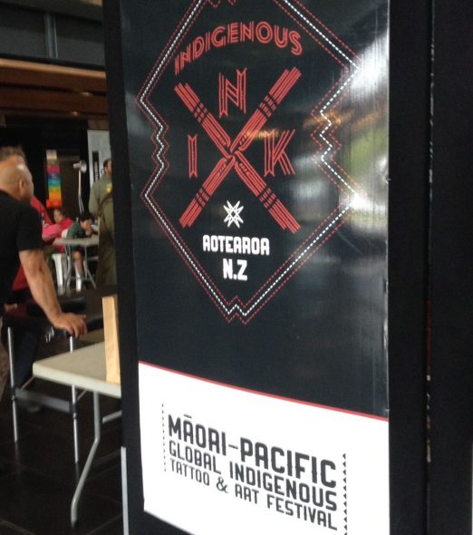Indigenous Ink signage 2015
