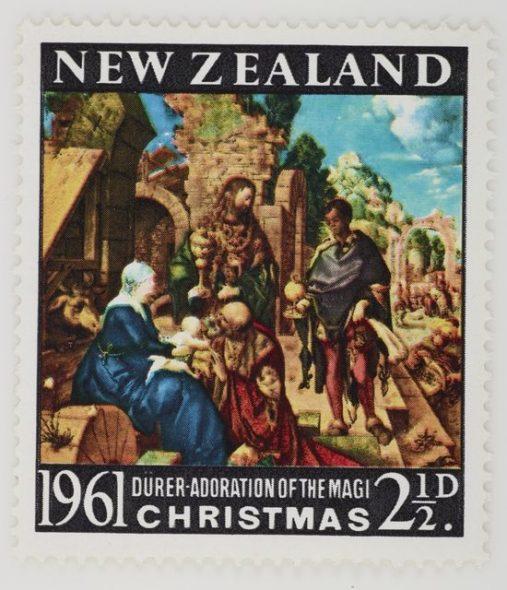 1961 Xmas stamp