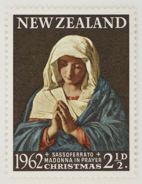 1962 Xmas stamp