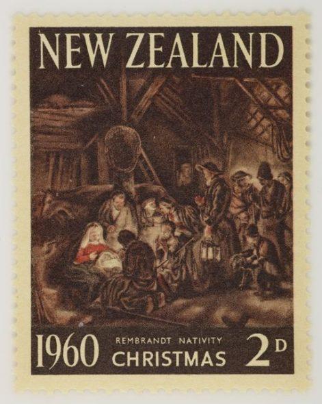 Christmas stamp 1960