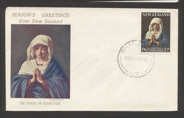 First day cover 1962