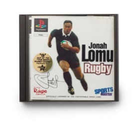 Jonah Lomu Rugby PlayStation game, The Codemasters Software Company Limited (maker/artist), 1997, Austria , FE012636