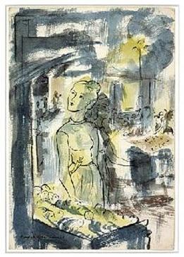 Drawing by Douglas MacDiarmid