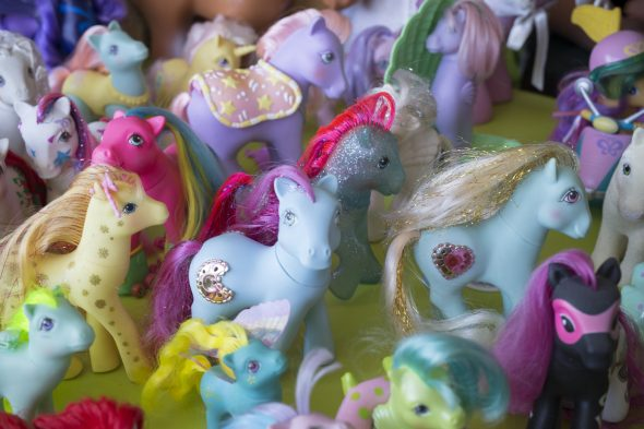 My Little Ponies. Photo: Kate Whitley © Te Papa