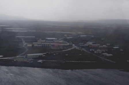Port aux Français (French scientific station), Kerguelen Islands. Image by Colin Miskelly, copyright IPEV/Te Papa