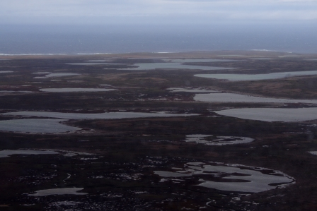 Lakes on Courbet Peninsula, Kerguelen Islands. Image by Colin Miskelly, copyright IPEV/Te Papa