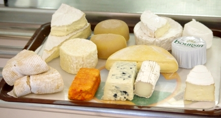 Les fromage du Marion Dufresne. Image Colin Miskelly, copyright IPEV/Te Papa