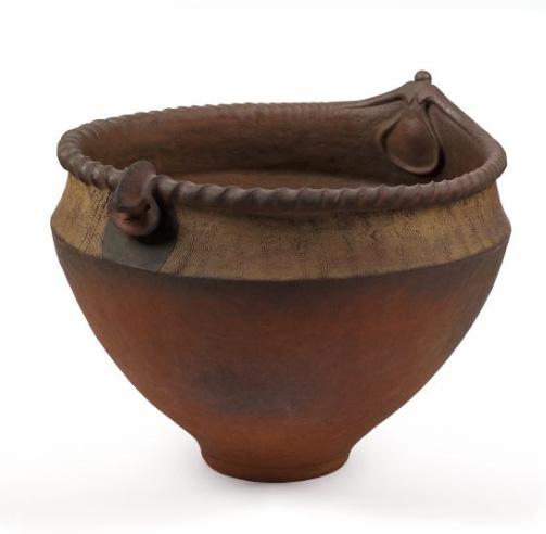 Anthropomorphic bowl, ceramic