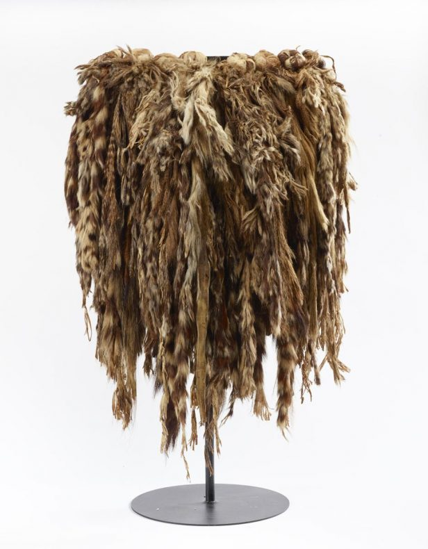 GH024606. Dance garment, c. 1900, Malawi (Ngoni culture), Photograph by Kate Whitley. Copyright Te Papa MA_I.374711