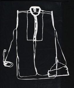 Pip Culbert White Shirt -Radiac,1992 2002-0039-1