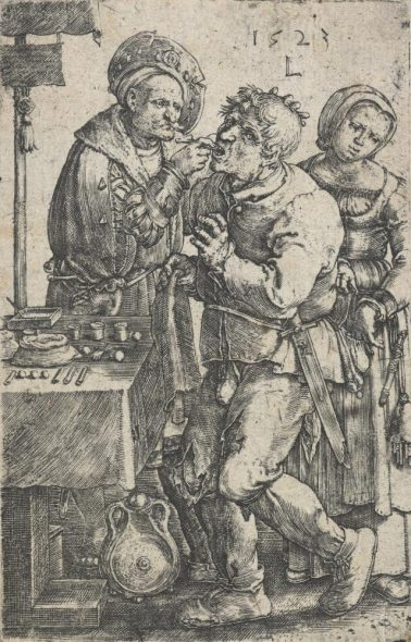 4 Van Leyden 'The dentist'
