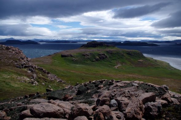 Islands in the Golfe du Morbihan, Iles Kerguelen. Image: Colin Miskelly, IPEV / Te Papa
