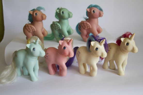 The first My Little Ponies
