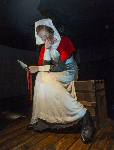 Sister Lottie Le Gallais. Photograph by Norm Heke