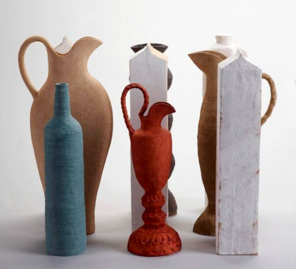 Clay - Still Life with Red Jug