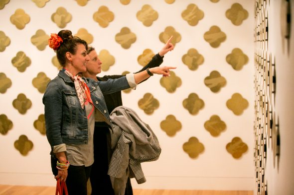 'The Art of Remembrance' exhibition at Te Papa. Photo: Michael Hall, Te Papa