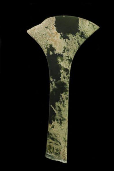 Stoor made of jade, pounamu