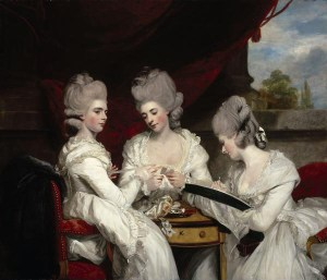 The Ladies Waldegrave, Sir Joshua Reynolds, 1780. National Gallery of Scotland NG 2171. Oil on canvas.