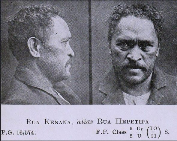 Prophet Rua Kenana was arrested for sedition. Should he be counted as an objector? P12 Box 37/50, Archives NZ