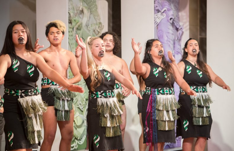 Whare Mātoro, Performing Arts Weekend for Rangatahi, 2016. Photographed by Kate Whitley © Te Papa