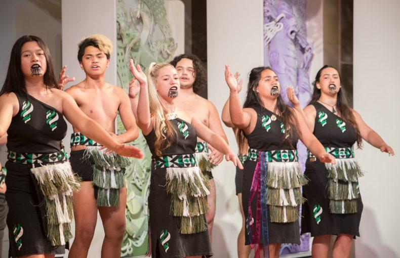 Whare Mātoro, Performing Arts Weekend for Rangatahi, 2016. Photographed by Kate Whitley © Te Papa