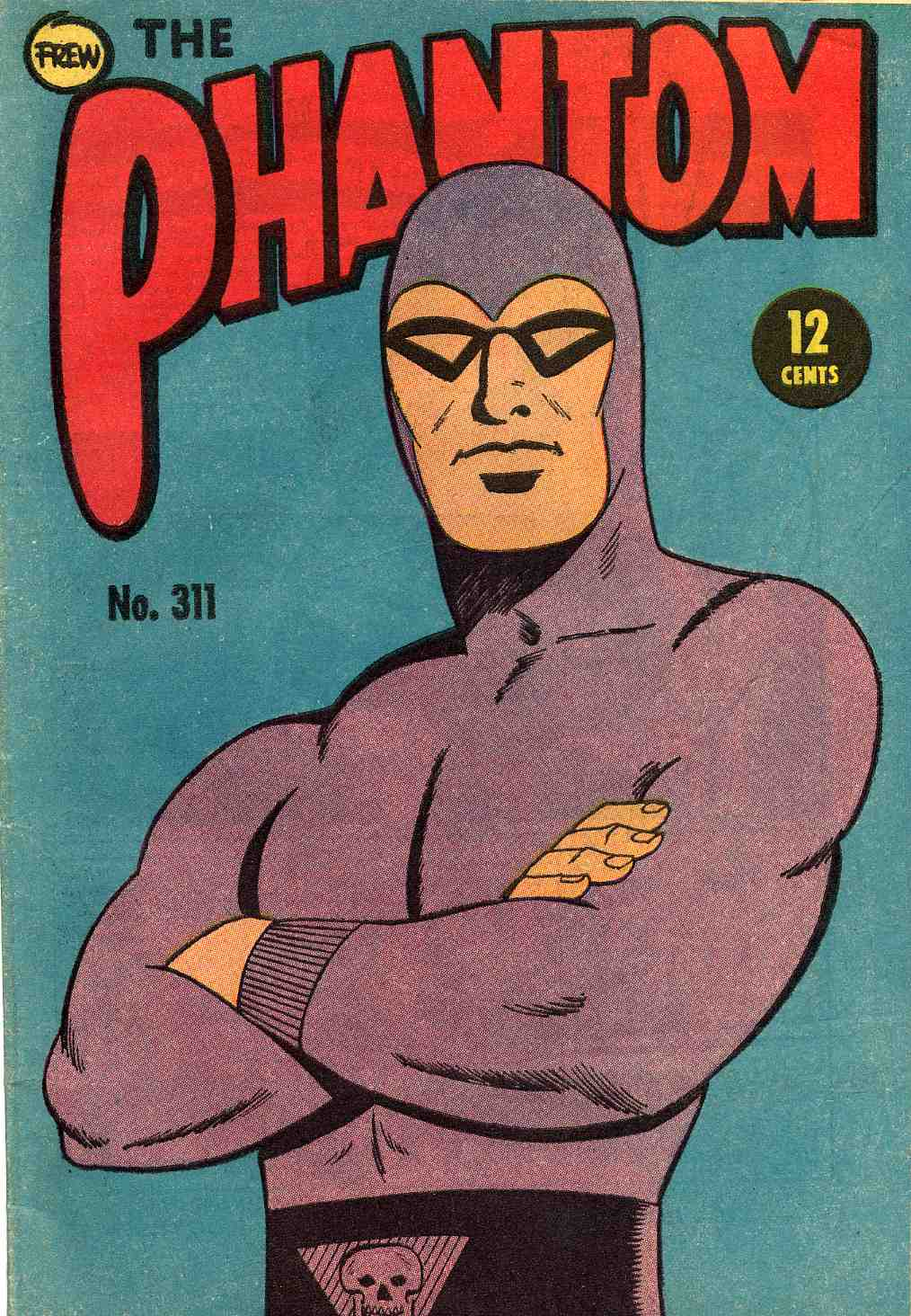 The Phantom Issue 311 published in Australia by Frew Publications, the longest running publisher of The Phantom comic.