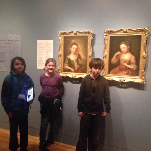 With the Senses - Isaac's favourites! Photograph by Rebecca Browne, © Te Papa
