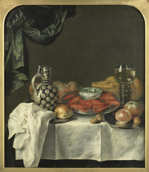 Still life of food