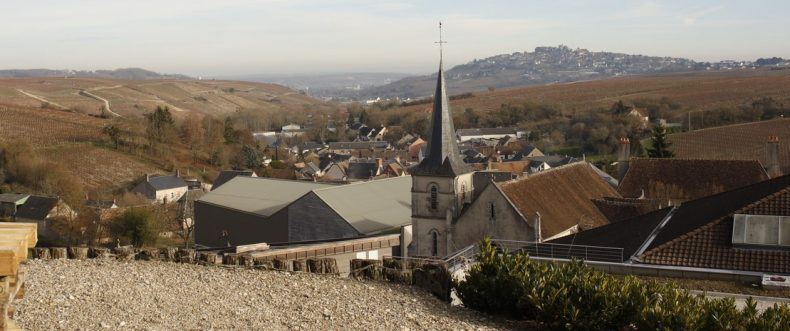 The village of Chavignol in the Sancerre wine region on the upper Loire valley. Photo taken by and courtesy of Dominique Filippi.