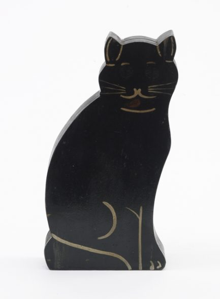 Money box, circa 1930, Auckland, by Mervyn Hubber. Purchased 1995. Te Papa (GH004620)