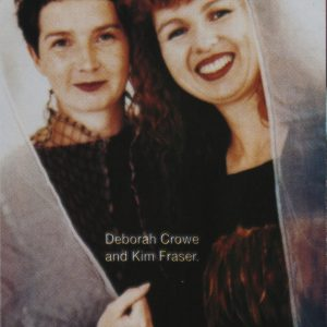 Kim Fraser and Deborah Crowe. Image provided by D. Crowe.