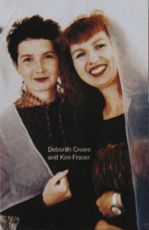 Kim Fraser and Deborah Crowe. Photograph courtesy of Deborah Crowe