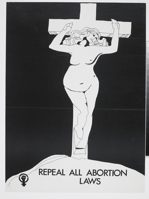 Poster, 'Repeal All Abortion Laws'
