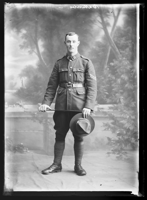 Portrait of Richard Weir Battersby, 1917-1918, Wellington, by William Berry. Purchased 1998 with New Zealand Lottery Grants Board funds. Te Papa (B.044939)