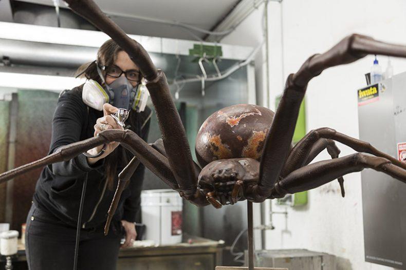 Giant model spider