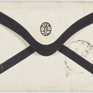 Philatelic 'cover' [envelope], March 1864, Waikato, by Corporal John Randall. Purchased 2001. Te Papa (PH000923)