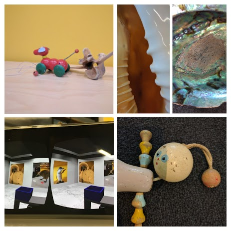 A selection of the children's photos.