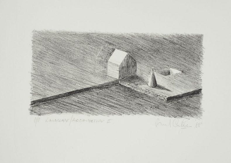 Paul Cullen's artwork Landscape/architecture II