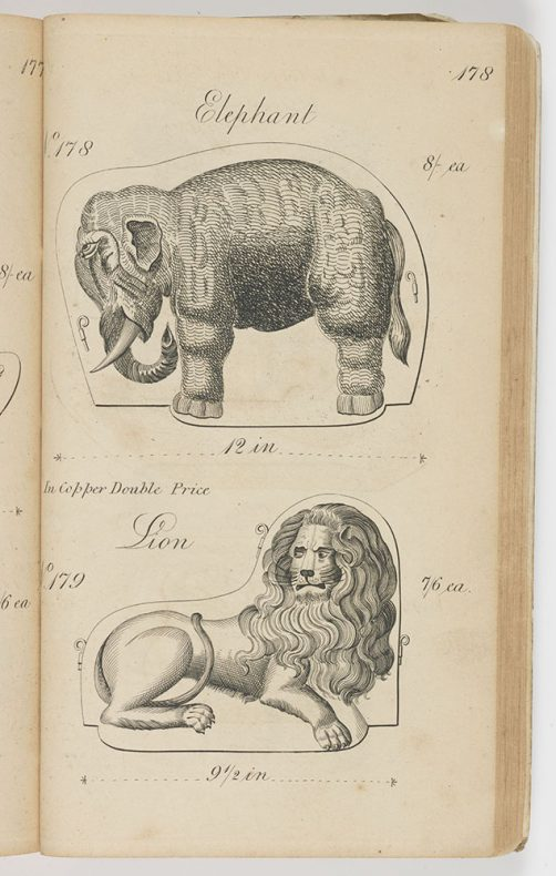 Elephant from catalogue