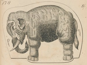Elephant (detail) from catalogue