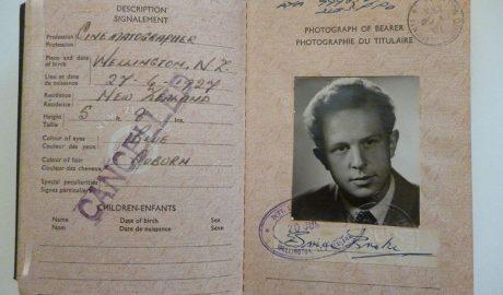 British Passport New Zealand, 20 June 1951-20 June 1956, by Department of Internal Affairs. Te Papa (CA000826/001/0001)