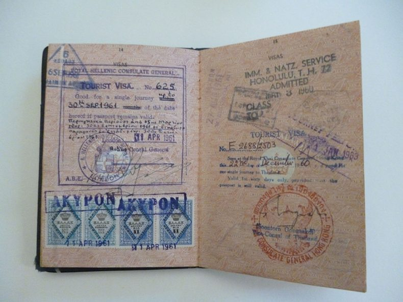 British Passport New Zealand, 18 March 1958-16 April 1968, by Department of Internal Affairs. Te Papa (CA000826/001/0003)