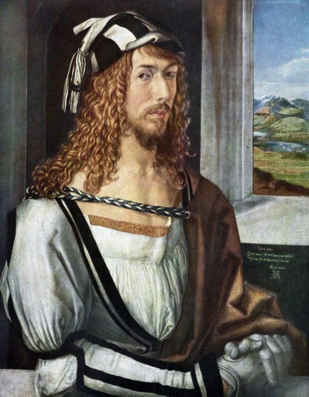 Albrecht_Dürer self-portrait Prado