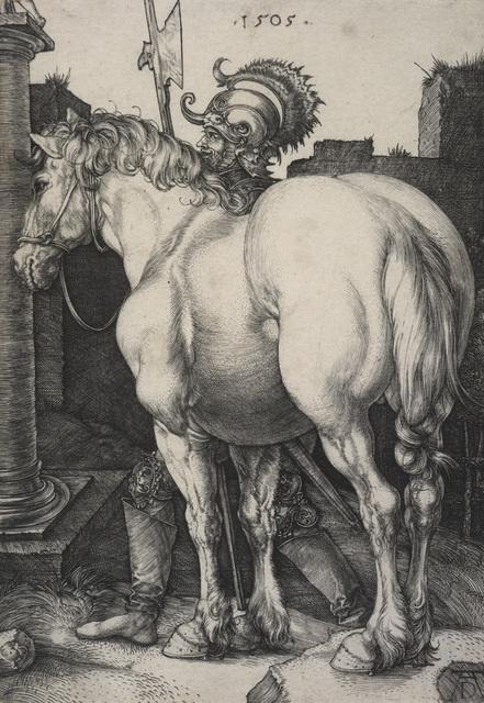 Durer large horse