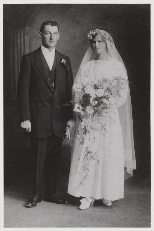 James Dempsey and Sophia Hickey, March 1916. Reproduced courtesy of the descendants of James and Sophia Dempsey.